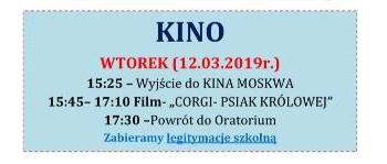 Kino wtorkowe 12-03